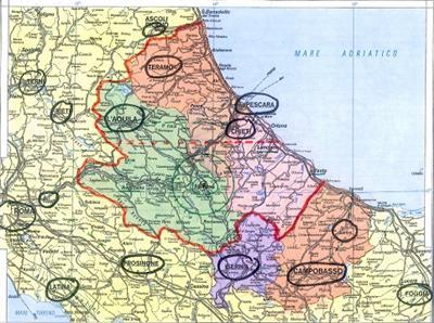 Anteprima foto - mappa distretto